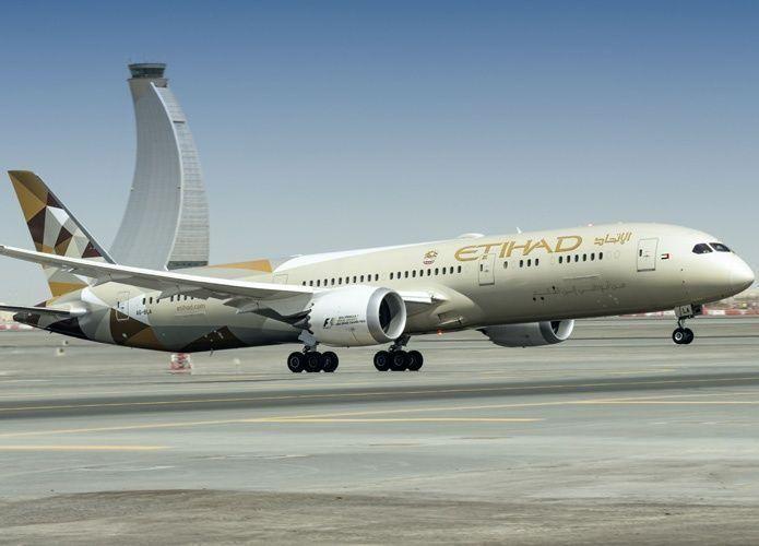 طائرة الاتحاد للطيران الفخمة بوينغ دريملاينر تبدأ رحلاتها اليومية إلى عمّان