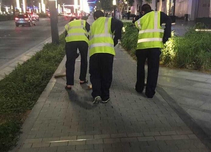 الإمارات: تنظيف الطرق للمحكومين بالخدمة المجتمعية