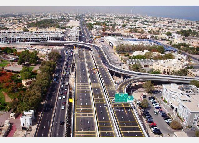 شاهد بالصور افتتاح جسر الوصل ضمن مشروع قناة دبي المائية، غدا الجمعة