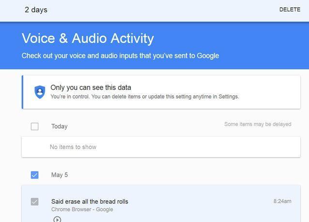 كيف تحذف ما يجري تسجيله من هاتفك الذكي لكل الأصوات من قبل غوغل