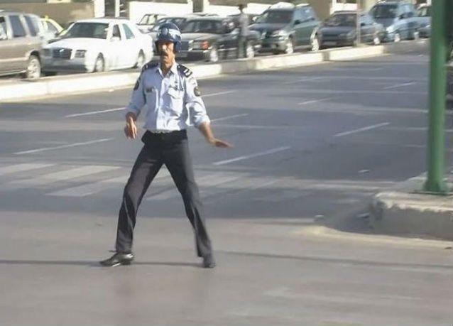 رحيل أشهر شرطي سير عن شوارع الأردن