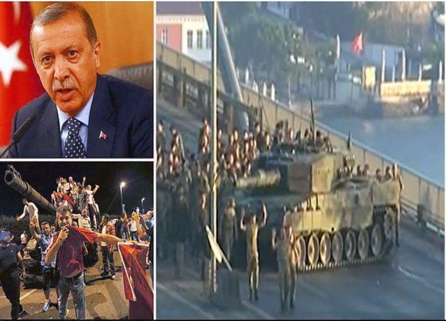 بـ 60 قتيل ، فشل محاولة الانقلاب العسكري في تركيا