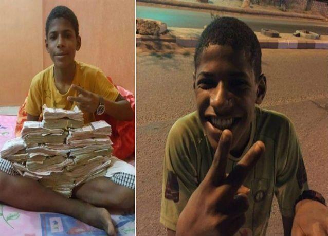 الكشف عن أكوام من المال  لدى متسول يمني في السعودية