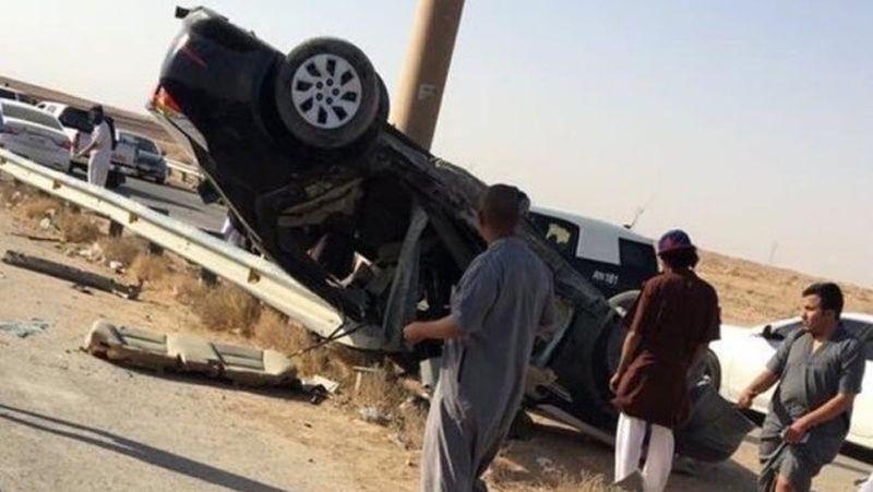 """حادث مروع يودي بحياة """"كنج النظيم"""" أشهر مفحط سعودي"""