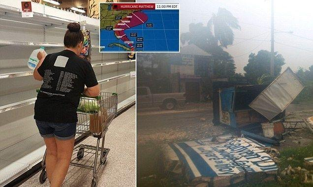 إخلاء مليون من سكان ولاية أمريكية هربا من إعصار ماثيو المدمر