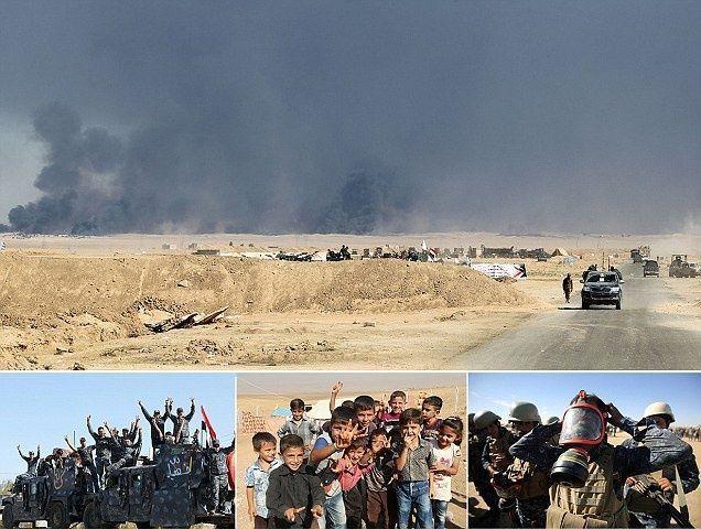 العراق يعلن بدء هجوم لاستعادة الموصل