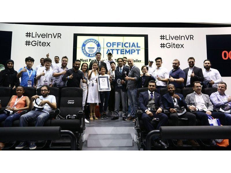 """""""دبي التجاري"""" يسجل رقما قياسيا عالميا في """"الواقع الافتراضي"""""""