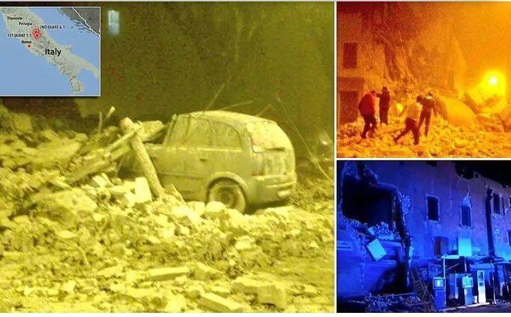 زلزالان قويان يضربان وسط إيطاليا ولا أنباء عن قتلى