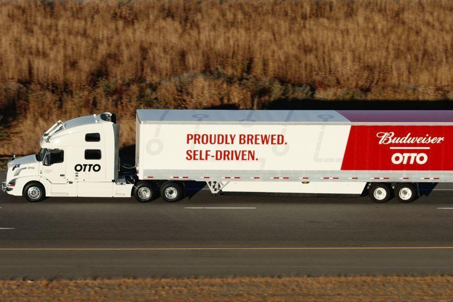 شاحنة أوبر ذاتية القيادة تنجح فى أول اختباراتها على الطرق العامة