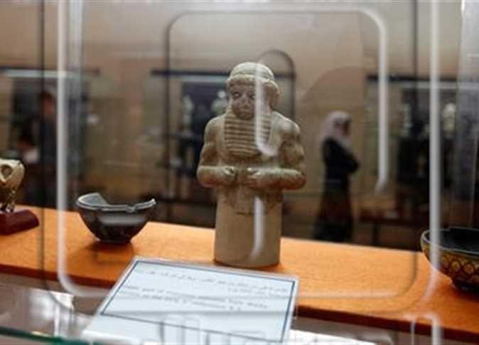 الرئيس الفرنسي يقترح حفظ التراث المهدد في سوريا والعراق بمتحف اللوفر