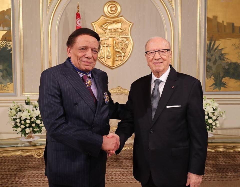 تونس تمنح الفنان عادل أمام الوسام الوطني للاستحقاق