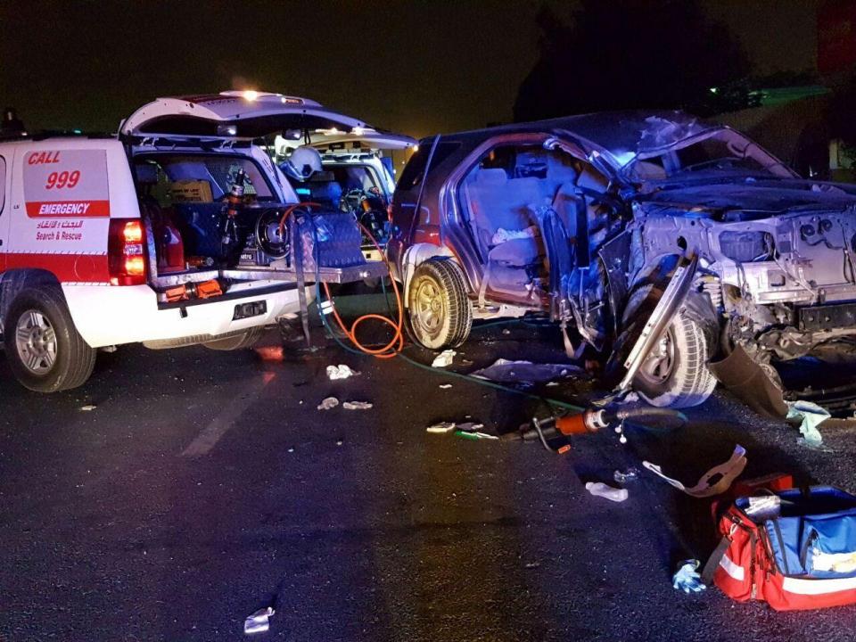 دبي: وفاة طفلة وإصابة 8 أشخاص في حادثي سير بإجازة نهاية الأسبوع