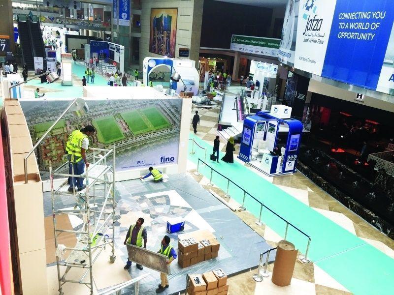 """دبي: انطلاق """"ماراثون المقاولين"""" في معرض """"الخمسة الكبار"""" للفوز بـ 7 تريليونات لمشاريع خليجية"""