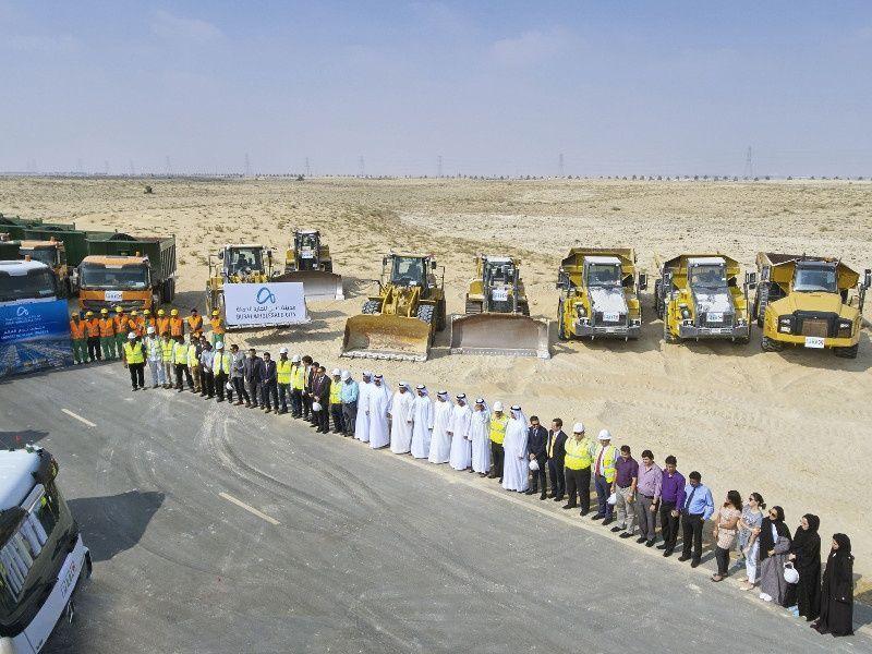 انطلاق أعمال البنية التحتية الأساسية في مدينة دبي لتجارة الجملة على مساحة 135 مليون قدم مربع