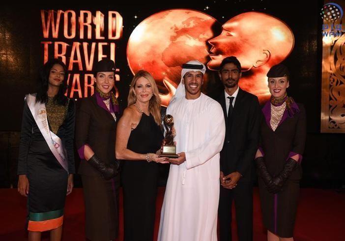 """الاتحاد للطيران تفوز بجائزة """"شركة الطيران الرائدة عالميا"""" للعام الثامن على التوالي"""