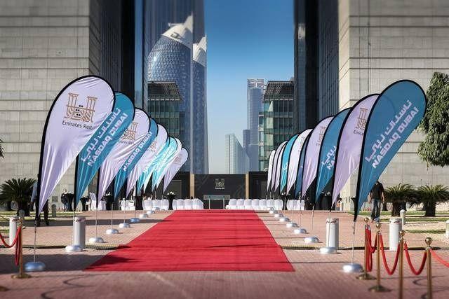 """مؤشر """"فوتسي ناسداك دبي الإمارات 20"""" يقفز بنسبة كبيرة بلغت /13.6/ في المائة"""