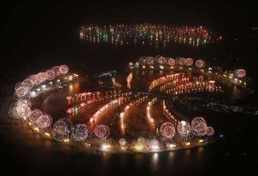 إعمار العقارية وتويتر تبثان احتفالات العام الجديد في دبي