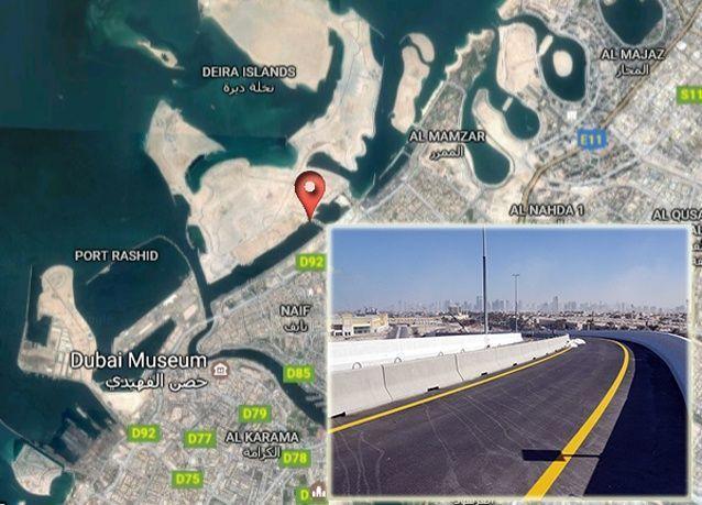 دبي:افتتاح جسر مدخل جزر ديرة الجمعة المقبل