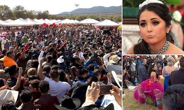 فتاة صغيرة تواجه آلاف حضروا لحفل عيد ميلادها بعد نشر دعوة له بالخطأ على فيسبوك