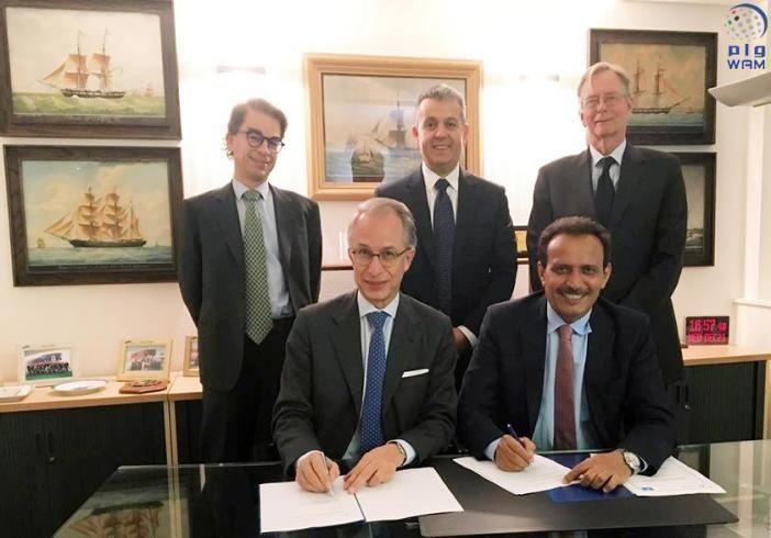 """""""الخليج للملاحة القابضة"""" و""""سي كويست"""" توقعان شراكة إستراتيجية عالمية لإدارة السفن والمشاريع البحرية"""