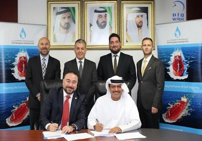 الخليج للملاحة وبوليمار التركية توقعان اتفاقية شراكة بأعمال الوكالات وخدمات السفن والمنتجات البحرية