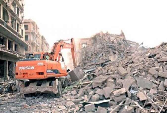 الحكومة السورية تقر برنامج عمل لإعادة الخدمات إلى حلب