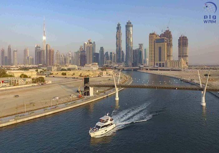 """""""جلف كرافت"""" تؤهل يخوتها الجديدة لتتوافق مع ارتفاعات الجسور على قناة دبي المائية"""