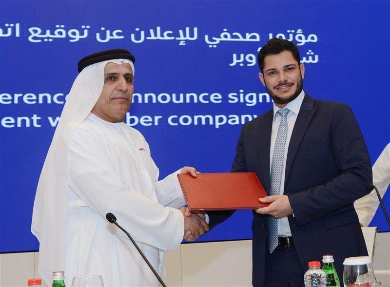 """""""طرق دبي"""" و """"أوبر"""" يوقعان اتفاقية تعاون لتقديم خدمة الحجز الالكتروني"""