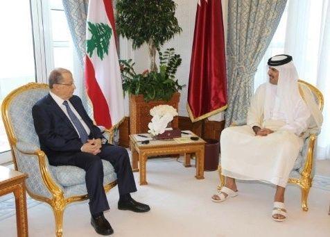 اتفاق قطري لبناني على تشجيع التعاون الاقتصادي والاستثماري