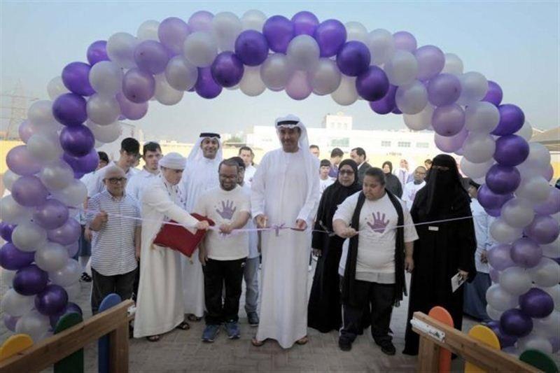بلدية دبي تفتتح حديقة ترفيهية لذوي متلازمة دوان