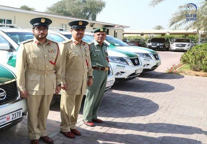 سيارات هجينة تنضم إلى دوريات شرطة أمن المواصلات بدبي
