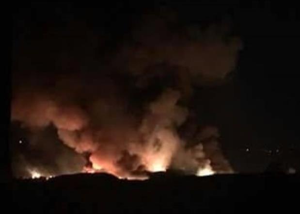 الجيش السوري: إسرائيل أطلقت صواريخ على مطار المزة العسكري