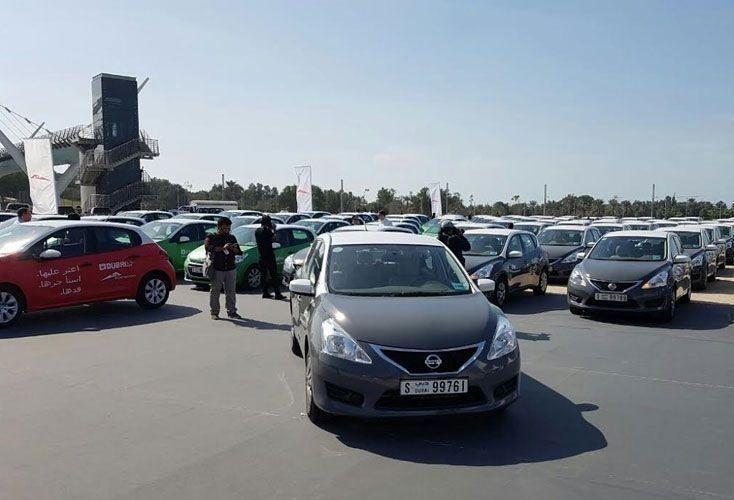 """""""طرق دبي"""" تدشن خدمة التأجير الذكي بـ 200 مركبة"""