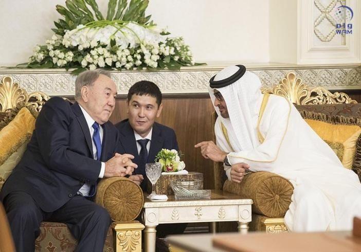 محمد بن زايد وسلطان نزار باييف يشهدان توقيع عدد من الاتفاقيات بين الإمارات وكازاخستان