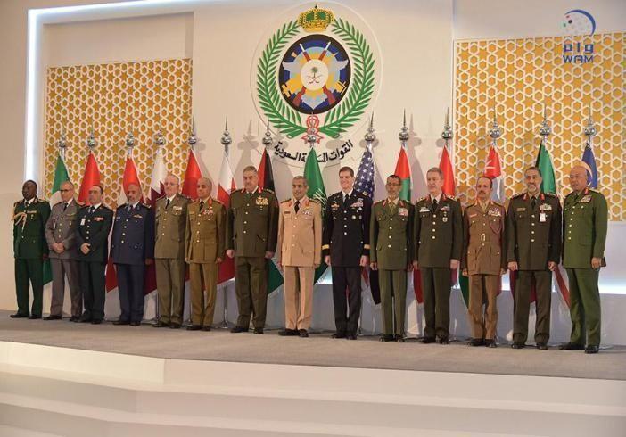"""الرميثي يشارك في اجتماع رؤساء هيئات الأركان لدول التحالف لمحاربة """"داعش"""" بالرياض"""
