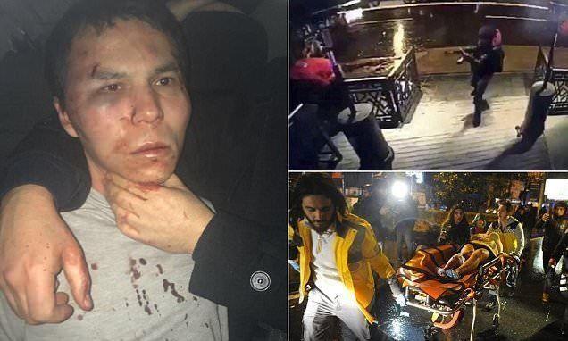 اعتقال المشتبه به في هجوم ملهى إسطنبول ليلة رأس السنة