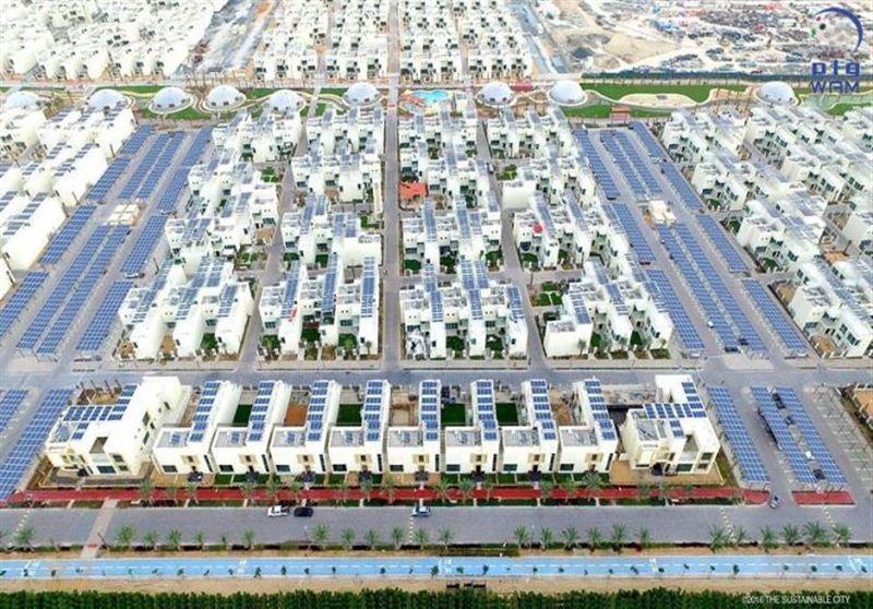 المدينة المستدامة في دبي أول مشروع سكني ينتج الطاقة النظيفة في المنطقة