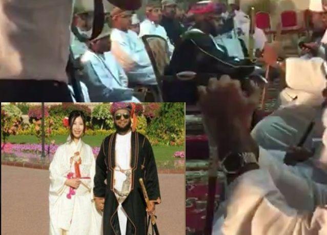 بالفيديو: زفاف أمير عماني من أميرة يابانية