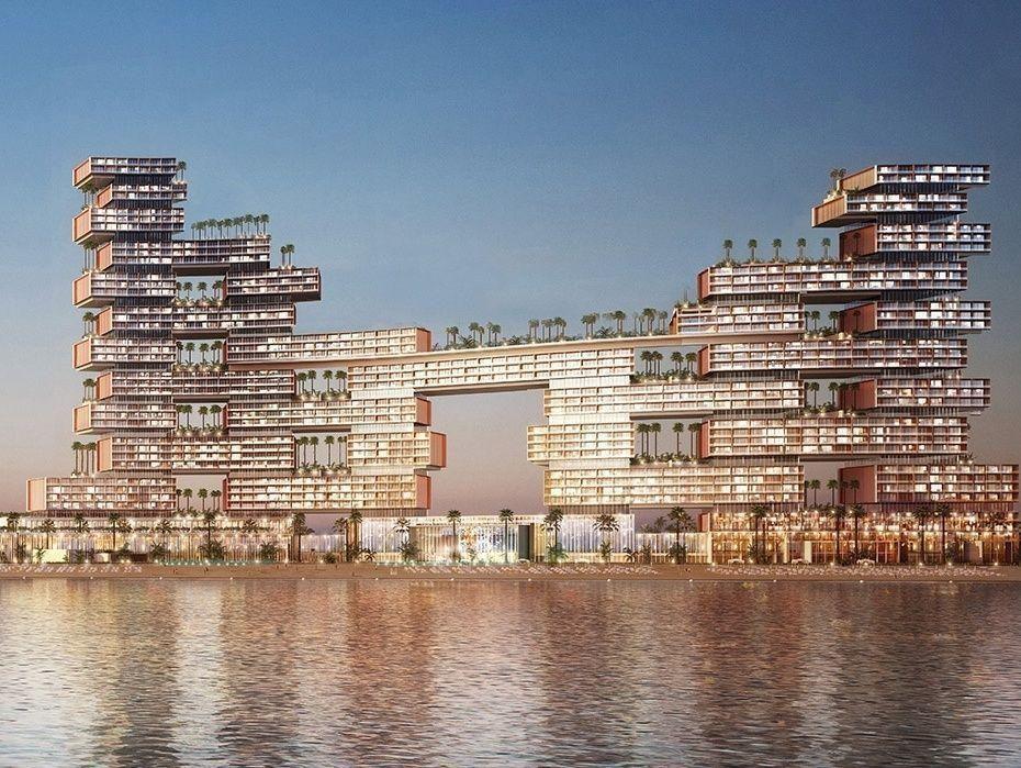"""بالصور...""""رويال أتلانتس ريزيدنسيز"""" أيقونة معمارية جديدة في دبي"""