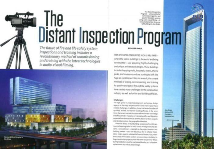 مجلة أمريكية تستعرض تجربة الدفاع المدني في أبوظبي