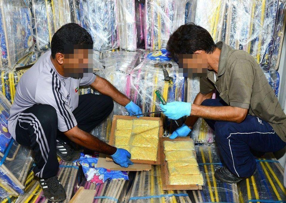 """""""داخلية الإمارات"""": تهريب مخدرات في مراجيح أطفال"""