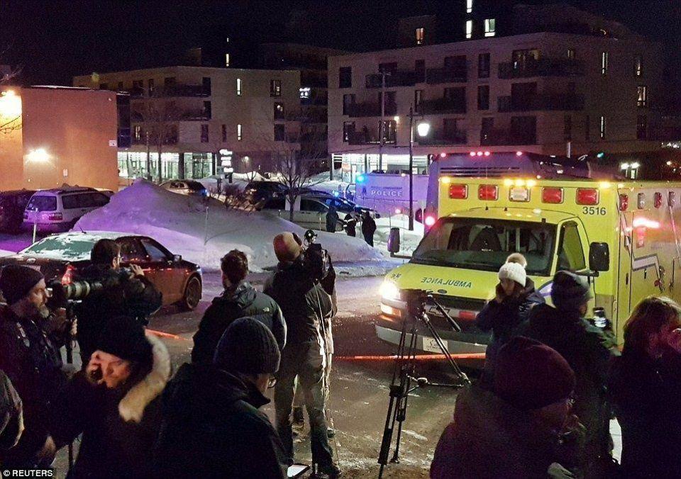 """الاشتباه بضلوع شاب مغربي صرخ """"الله أكبر"""" في هجوم على مسجد في كندا"""
