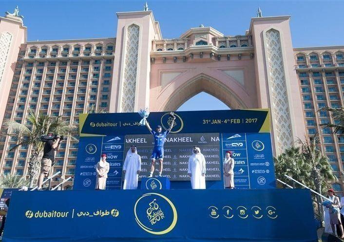 الألماني كيتل بطل المرحلة الأولى لطواف دبي الدولي للدراجات الهوائية