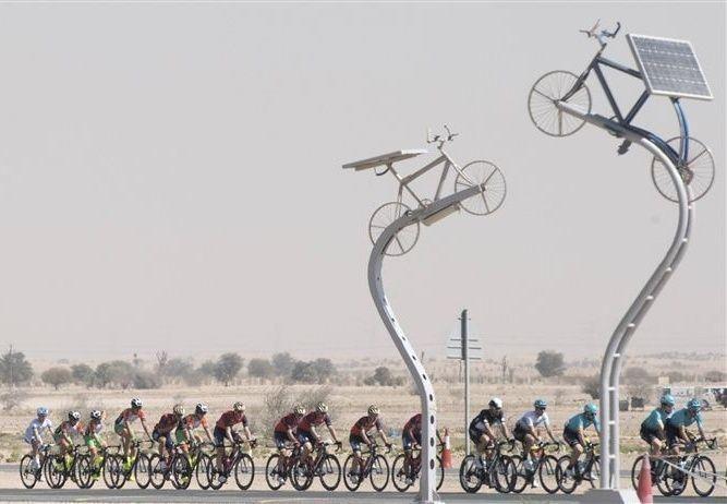 كيتل يجدد فوزه بالمرحلة الثانية ويتصدر طواف دبي الدولي