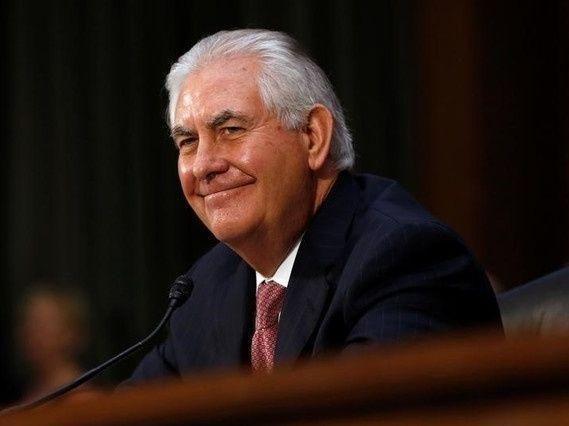 الشيوخ الأمريكي يصادق على تعيين تيلرسون وزيرا للخارجية