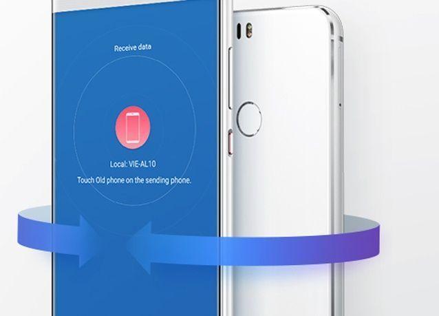 هواوي تقدم حلأً حديثاً لنقل البيانات مع تطبيق استنساخ الهاتف