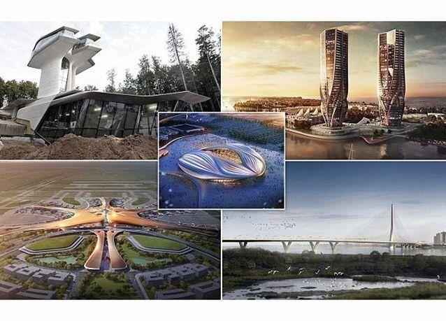 """بالصور : مشاريع قيد الإنشاء من تصاميم المهندسة المعمارية الراحلة """"زها حديد"""""""