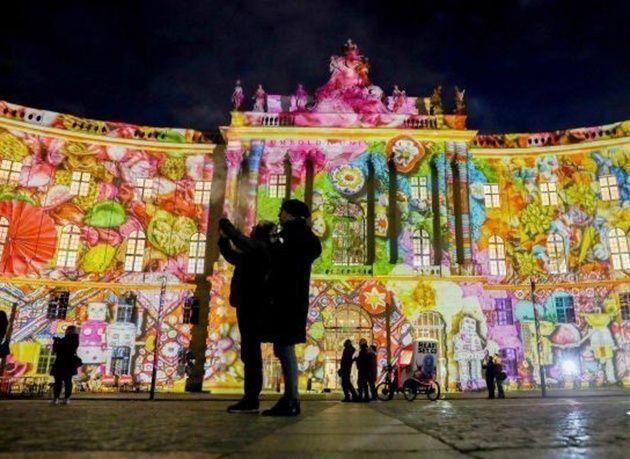 """بالصور : احتفالات """"مهرجان الأضواء"""" في برلين"""