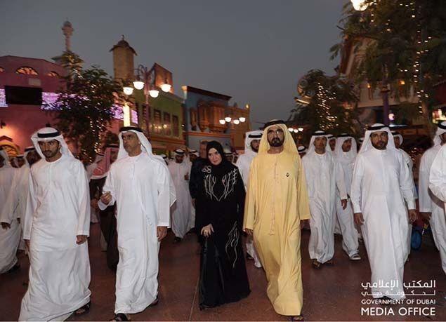 """بالصور : محمد بن راشد يفتتح رسمياً """"دبي باركس آند ريزورتس"""" أكبر وجهة ترفيهية عالمية في دبي"""