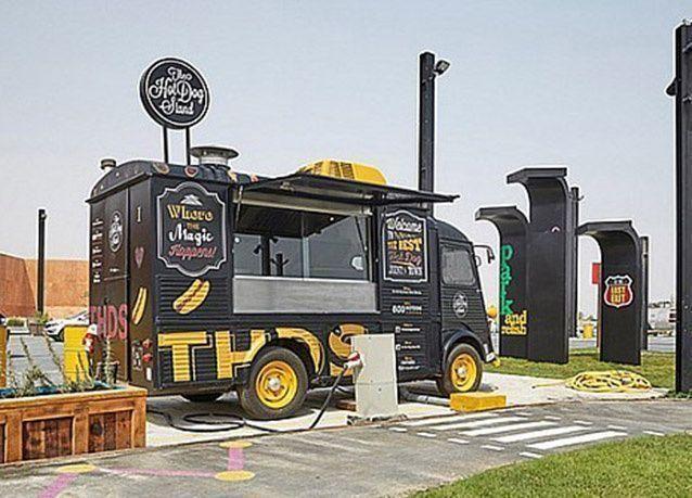 بالصور : افتتاح أول منتزه لعربات الطعام في دبي .. قريباً